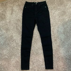 Mudd Black High Waisted Skinny Jeggings